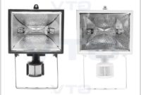 Halogen Lamp With Motion Sensor
