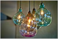 Hand Blown Glass Lighting Pendants
