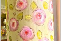 Hand Painted Lamp Shades Pinterest