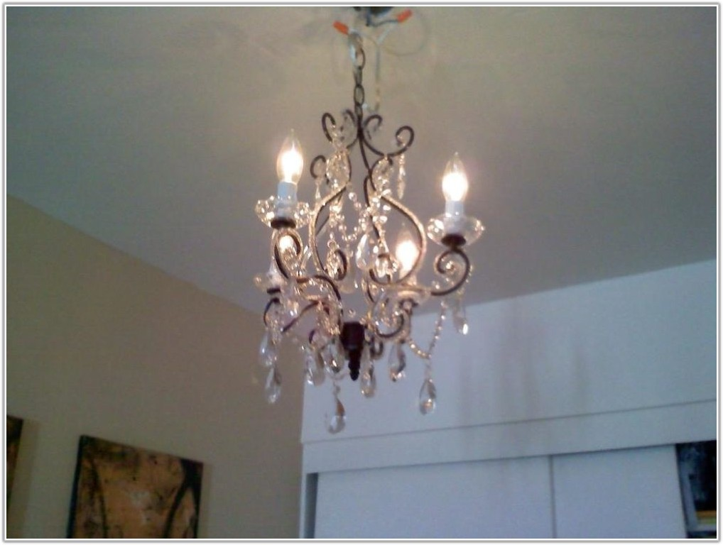 Hanging Chandelier Plug In Lamp
