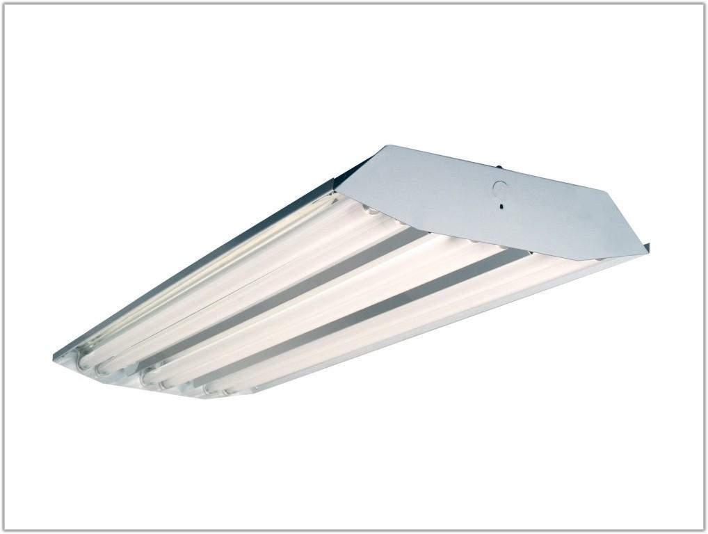 High Bay 6 Lamp T8 Fluorescent Fixture