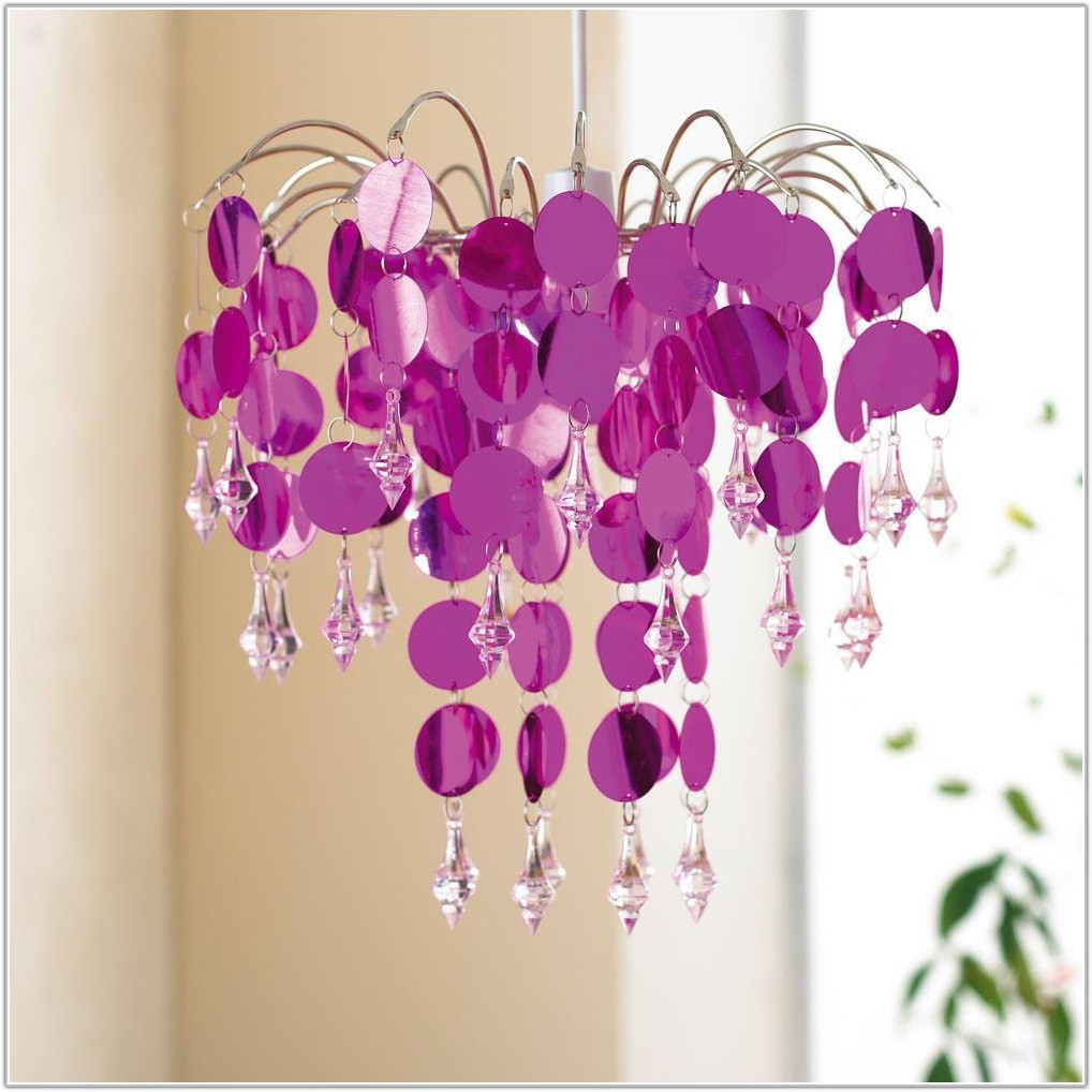 Hot Pink Chandelier Lamp Shades