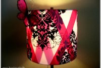 Hot Pink Polka Dot Lamp Shade