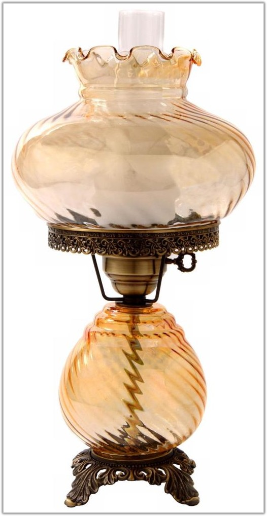 Hurricane Lamps With Night Light