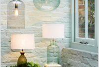 John Lewis Heather Bubble Glass Table Lamp