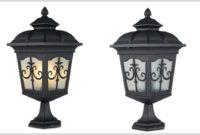 Lamp Post Style Floor Lamp