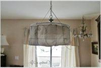 Lamp Shade Pendant Light Diy