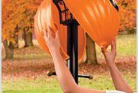 Lamplighters Outdoor Lamp Post Globe Pumpkin