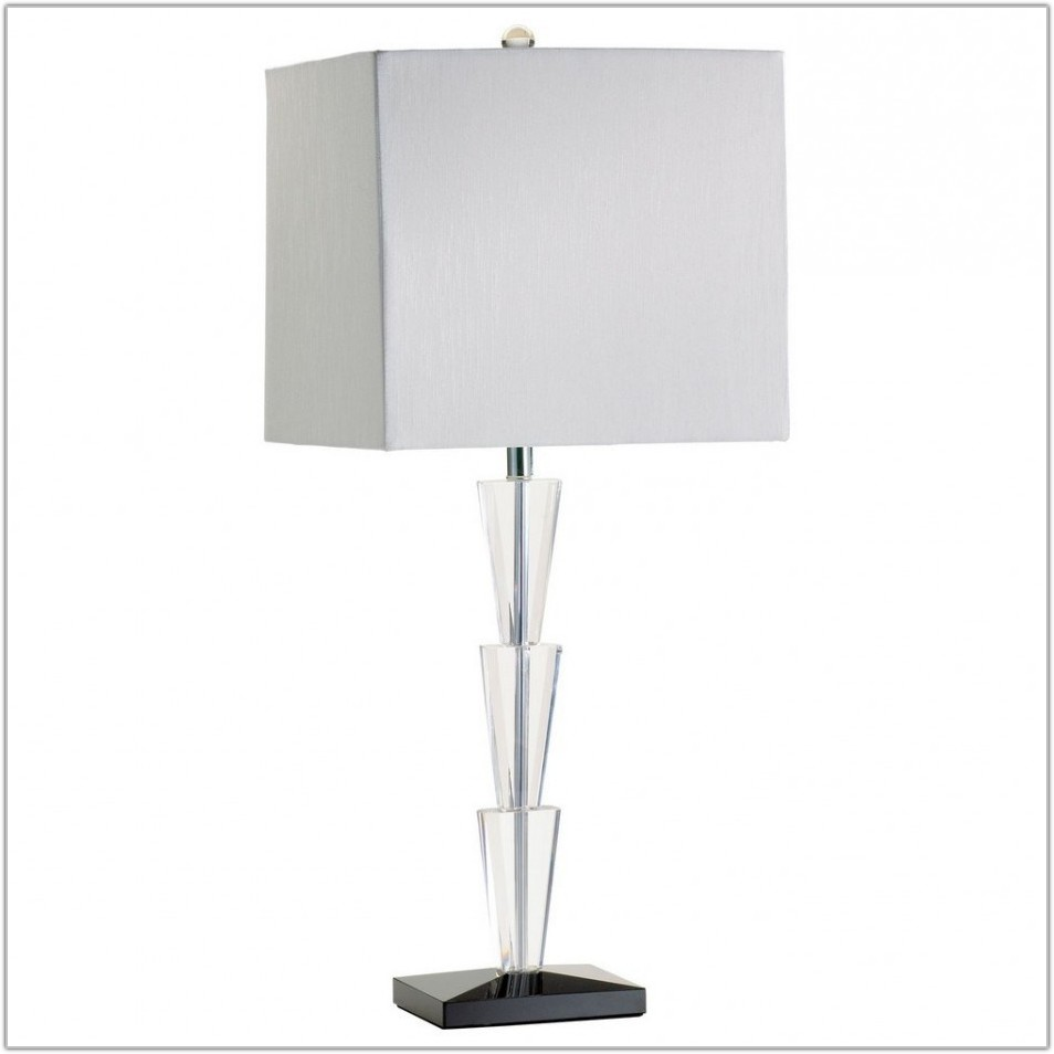 Large Clear Glass Table Lamps
