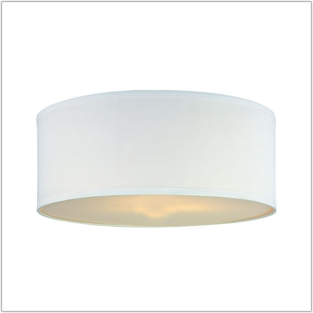 Large Drum Lamp Shade With Diffuser