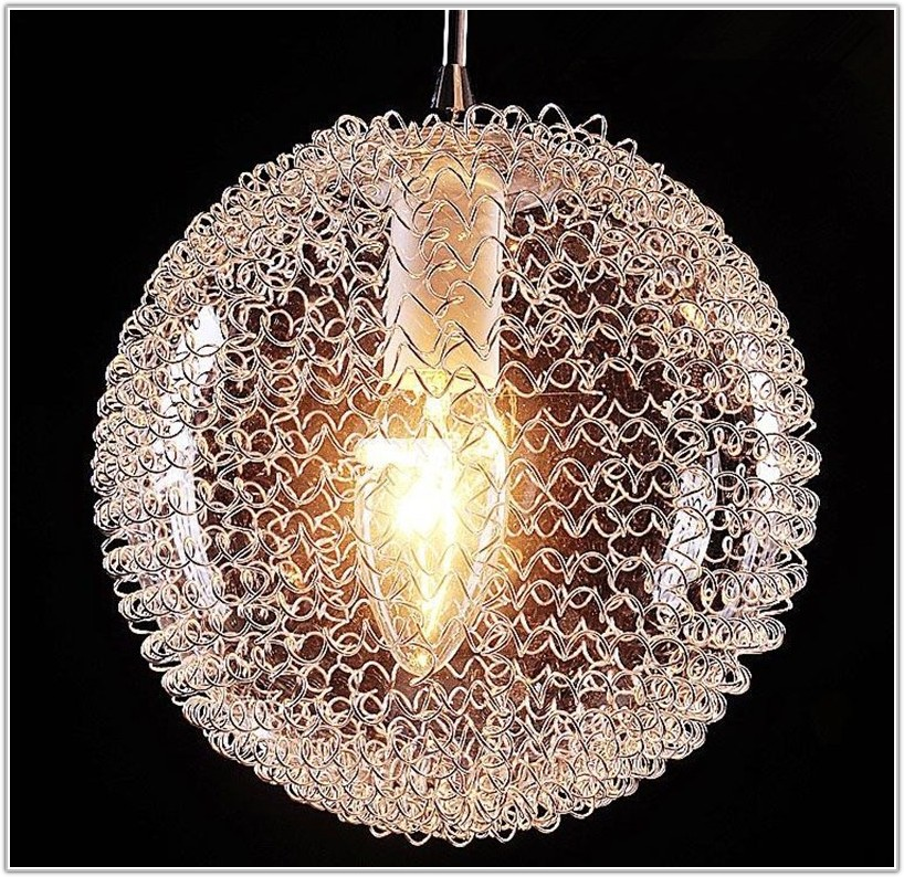 Large Light Bulb Shaped Lamp