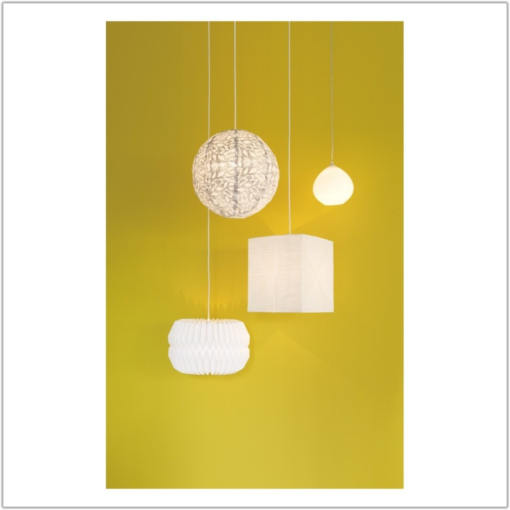 Large Paper Ceiling Lamp Shade