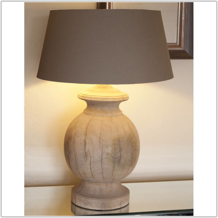 Large Red Ceramic Table Lamps