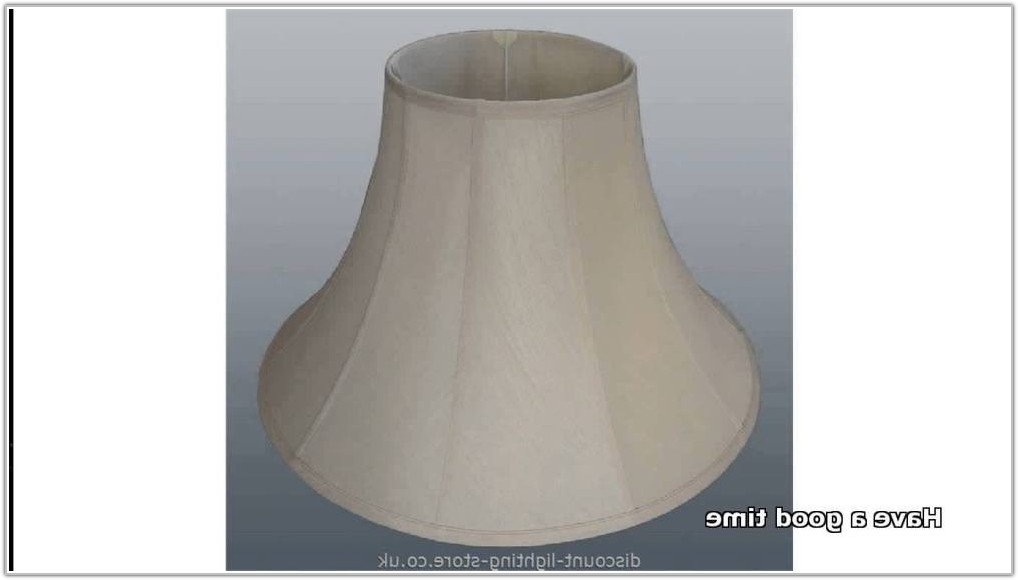 Large Red Drum Lamp Shades