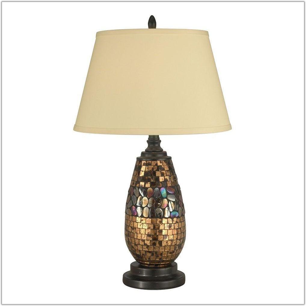 Light Antique Bronze Table Lamp