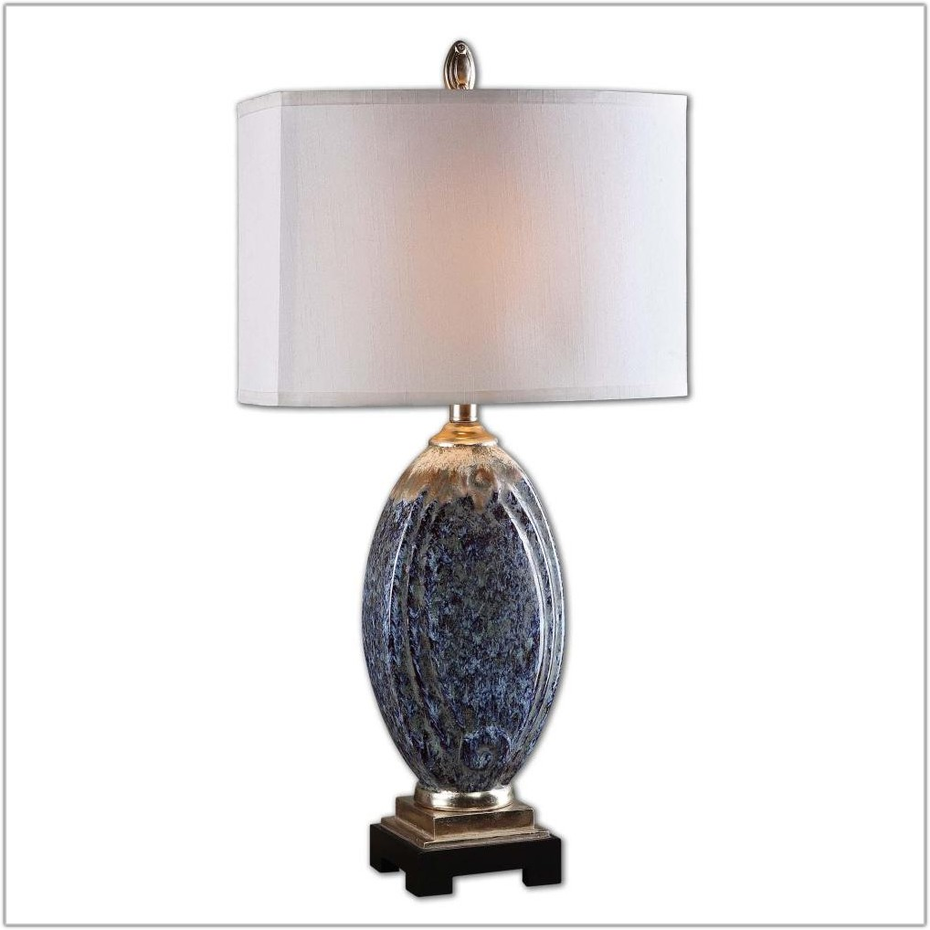 Light Blue Ceramic Table Lamps