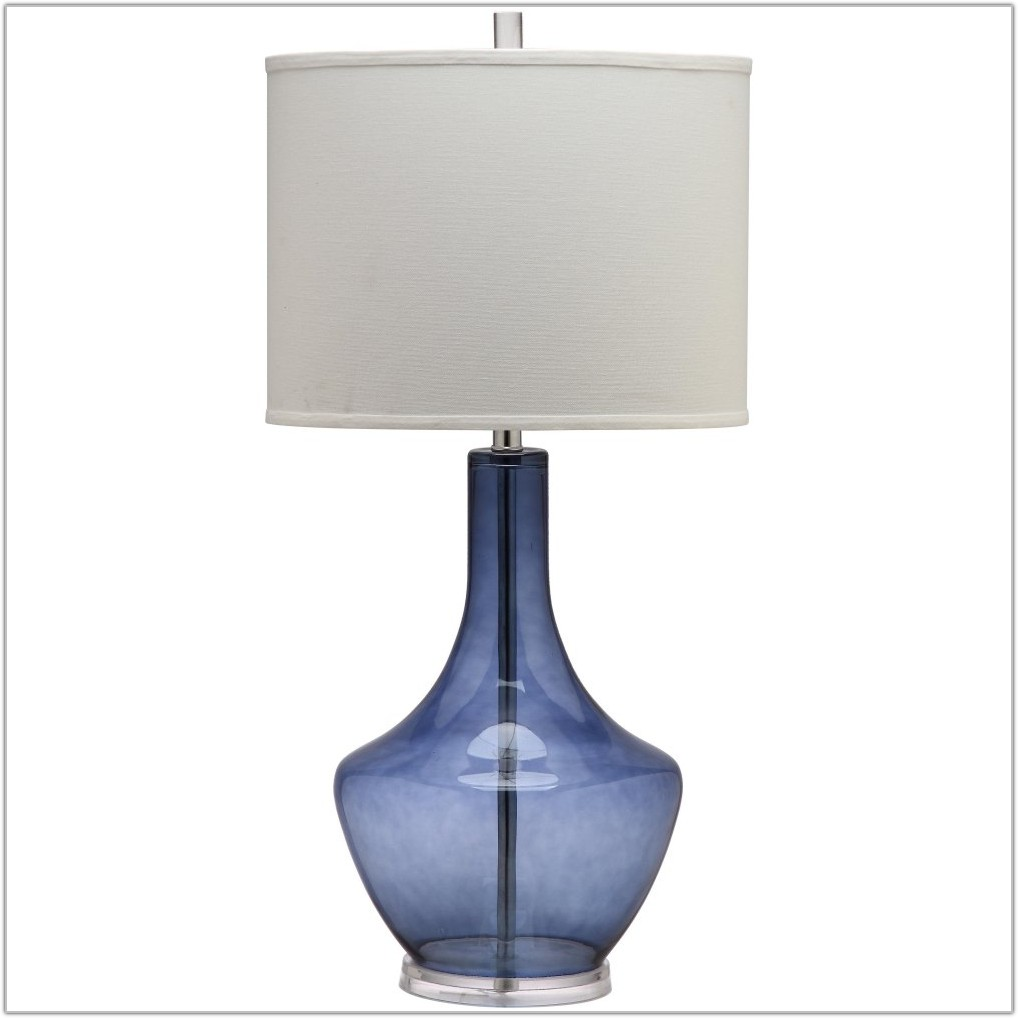 Light Blue Table Lamp Shade