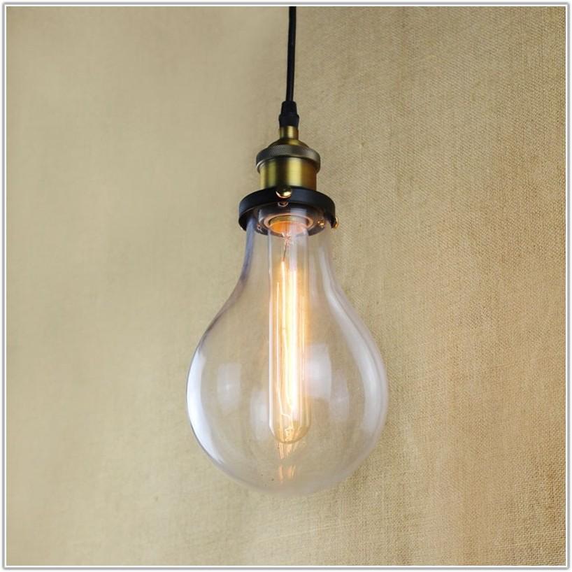 Light Bulb Shaped Lamp Shade