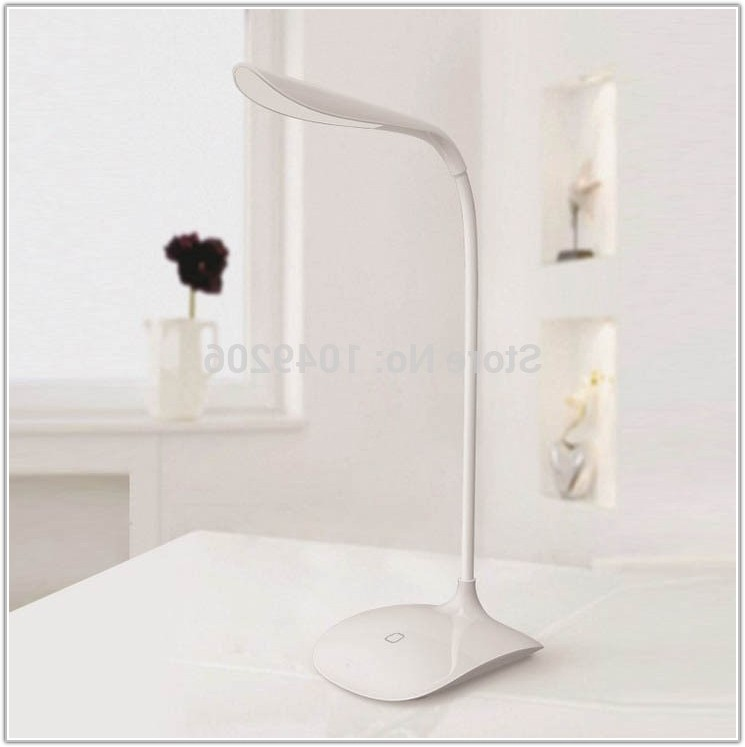 Light Bulb Shaped Touch Lamp