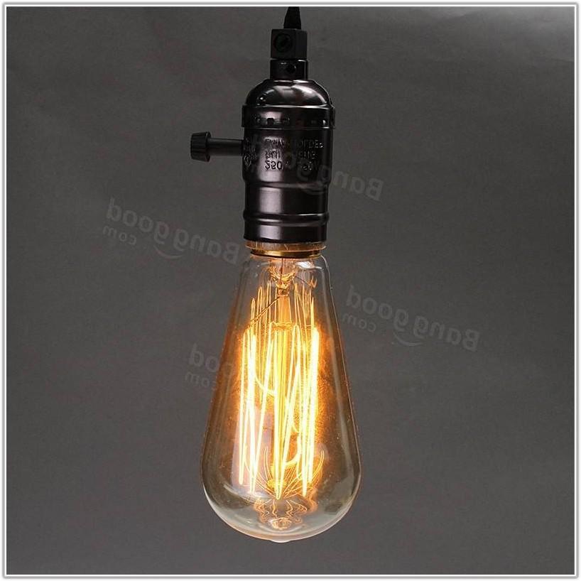 Light Bulb Socket Hanging Lamp
