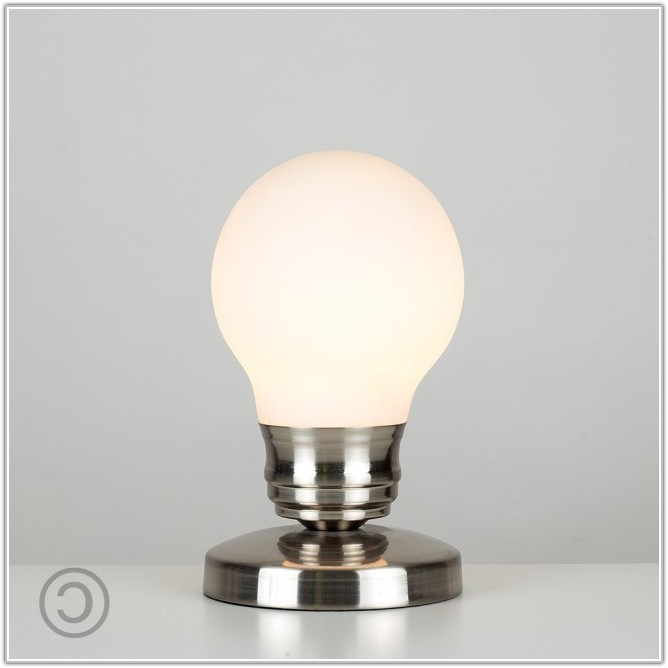 Light Bulb Touch Table Lamp