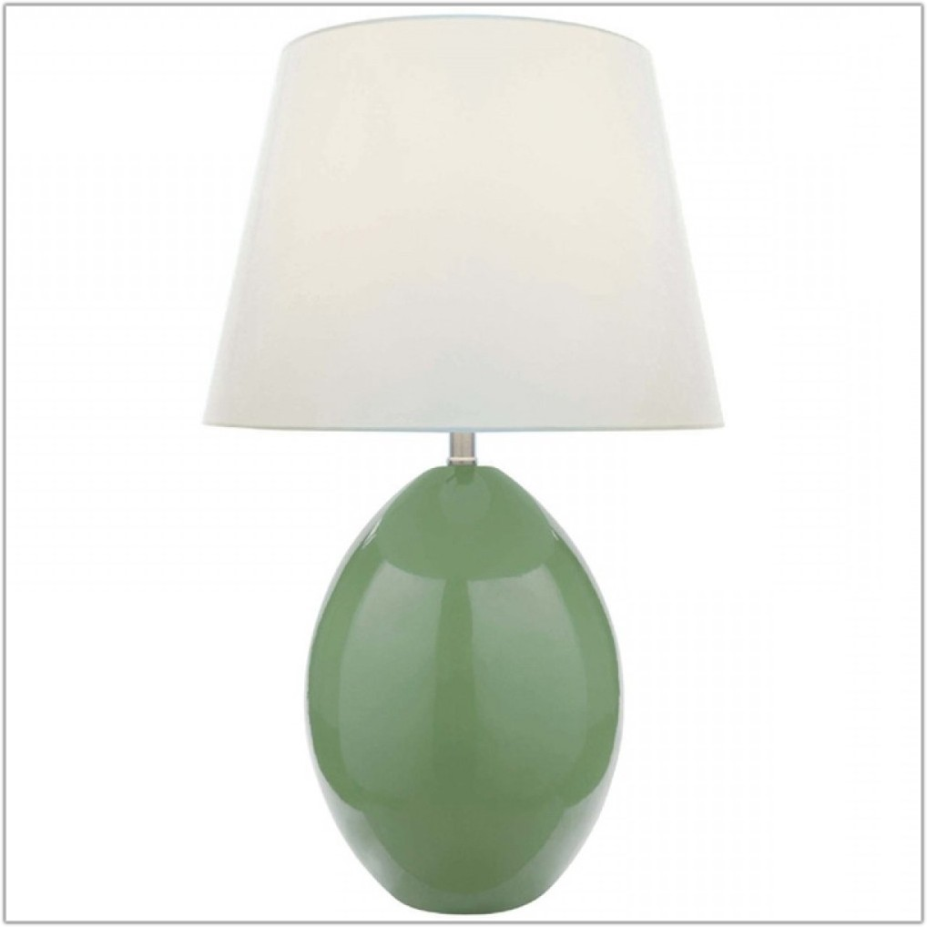 Light Green Ceramic Table Lamp