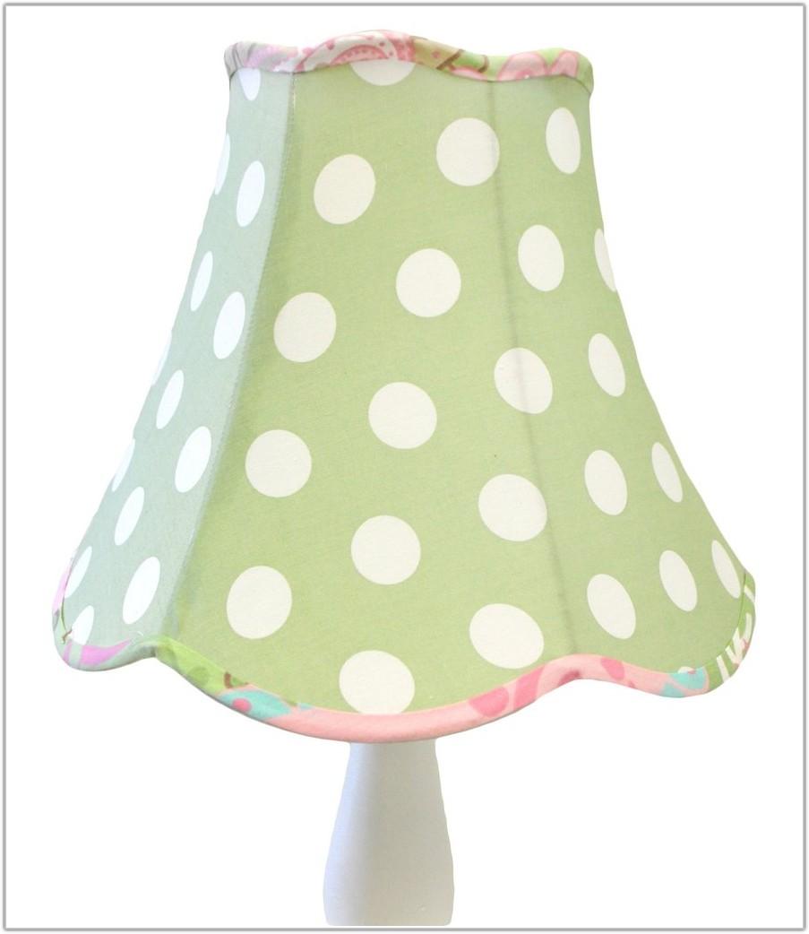 Light Pink Polka Dot Lamp Shade