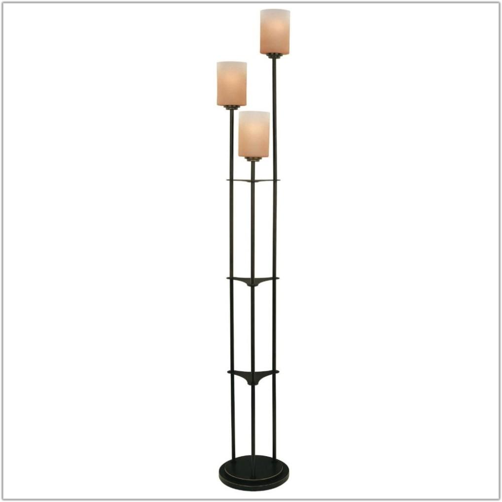 Light Tree Four Light Bronze Floor Lamp
