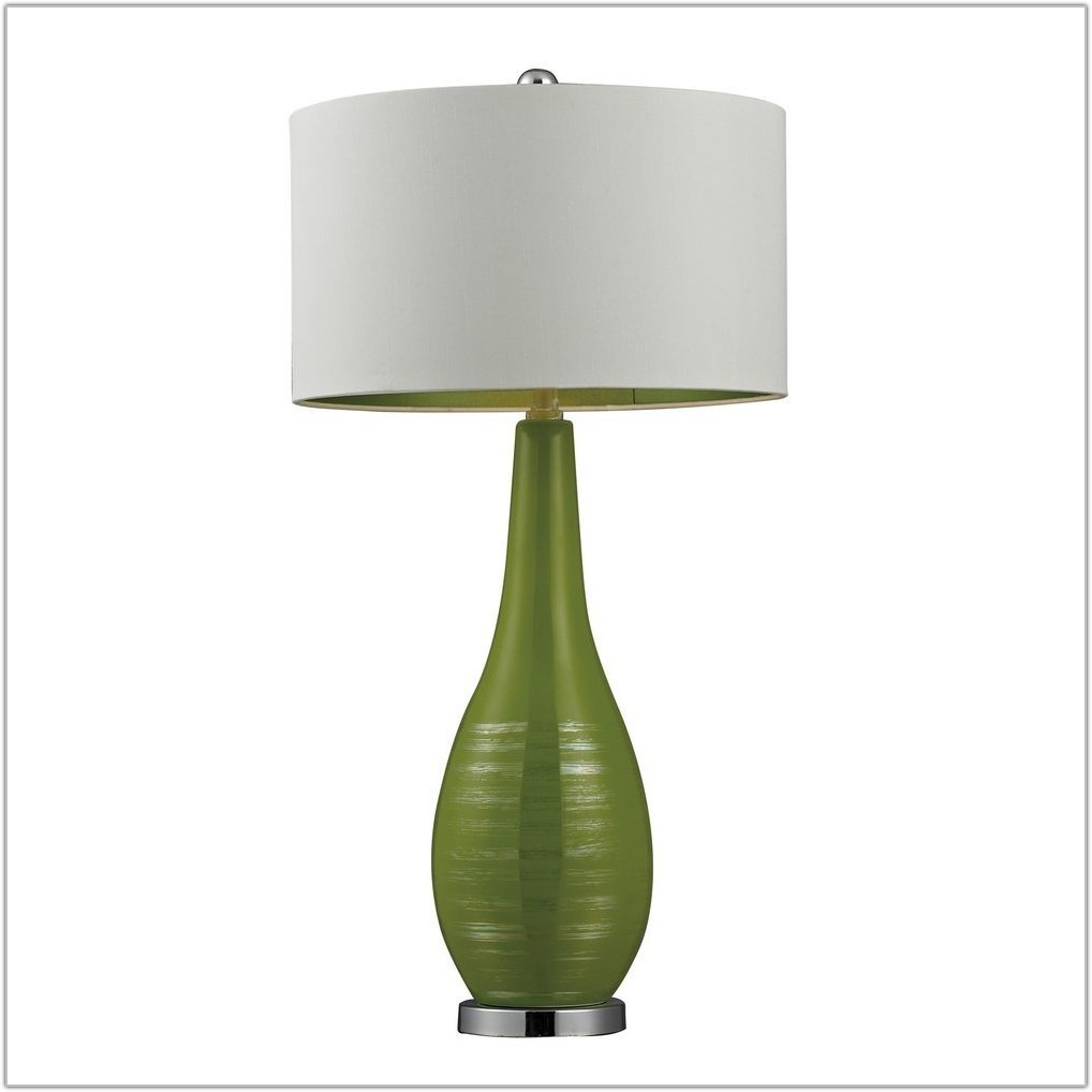 Lime Green Table Lamp Shade