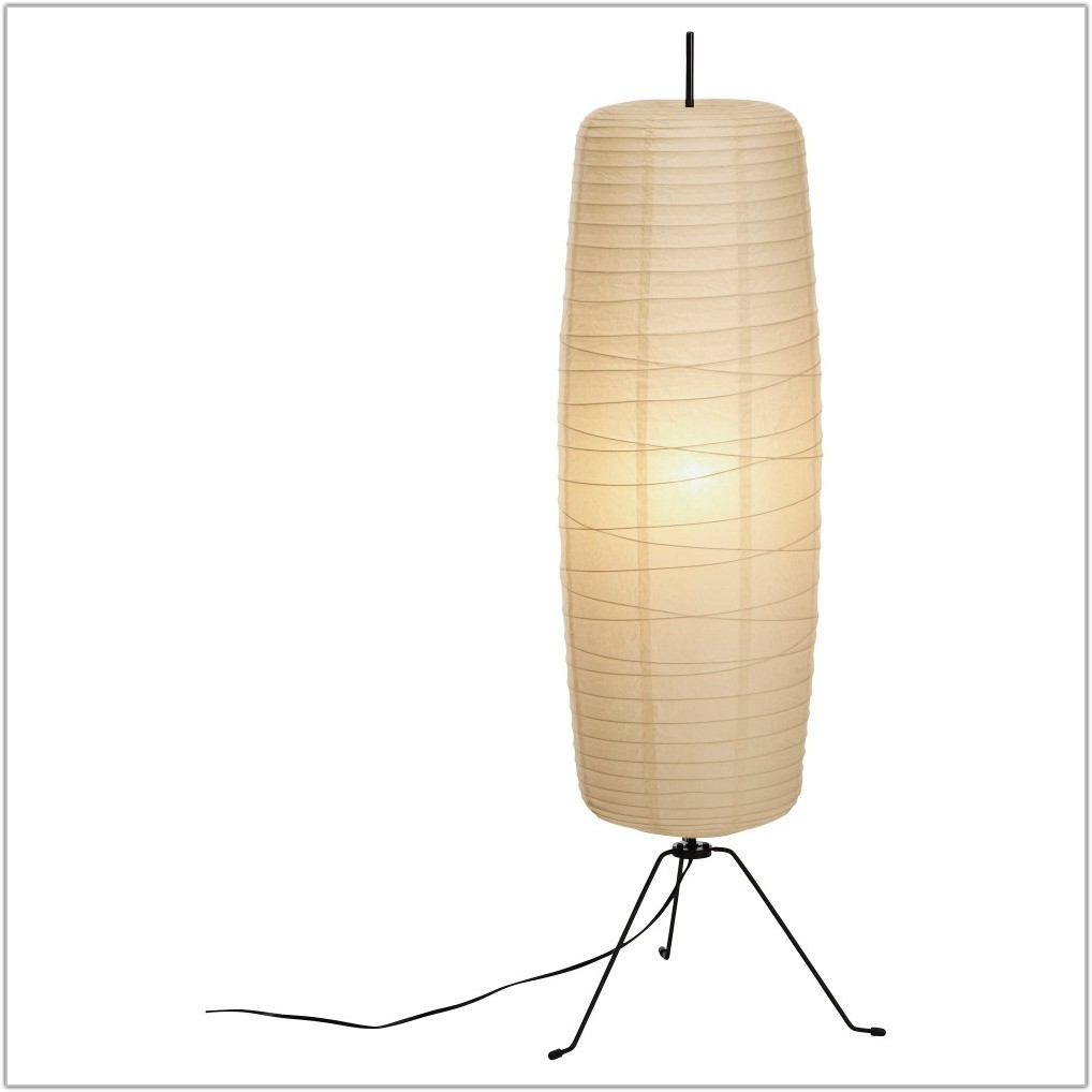 Long Lamp Shades Floor Lamps