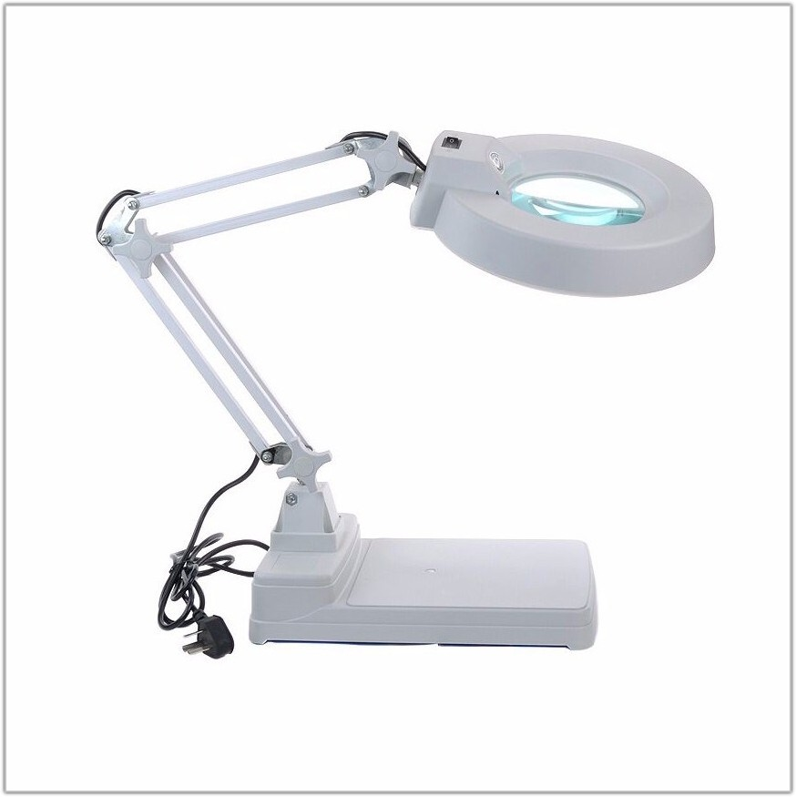 Magnifying Lamp With Led Light