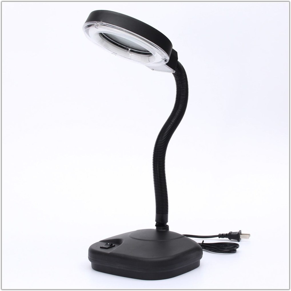 Magnifying Reading Lamp With Light
