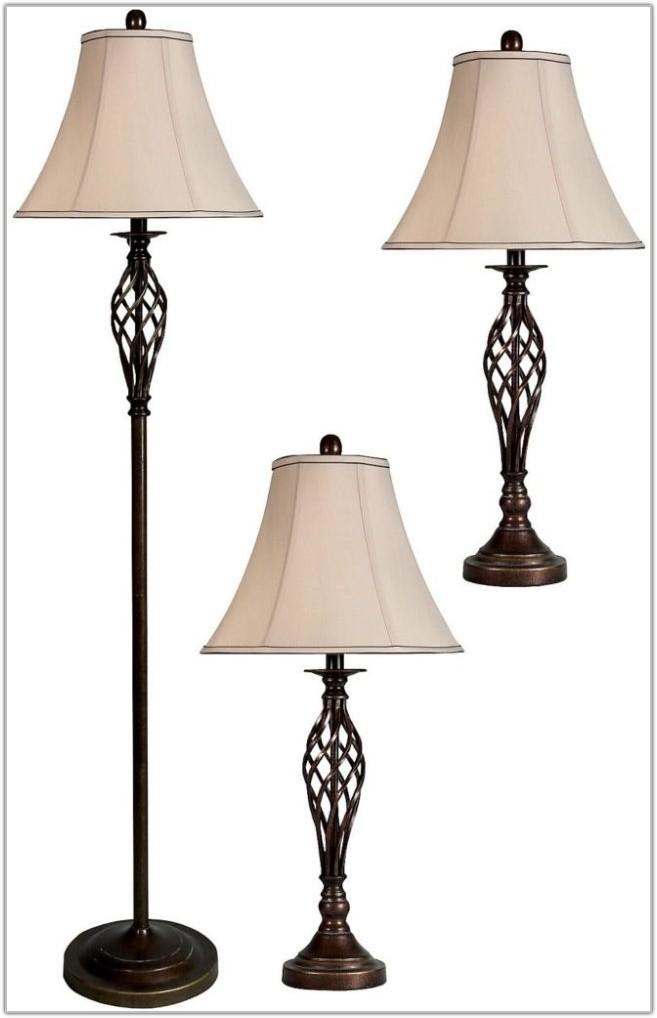 Mainstays 3 Piece Lamp Set