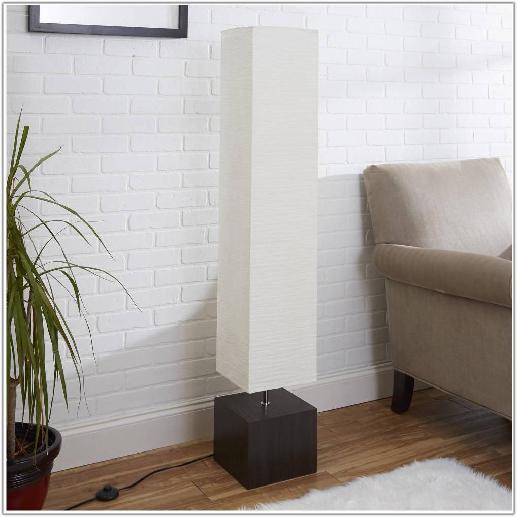 Mainstays Dark Wood Floor Lamp