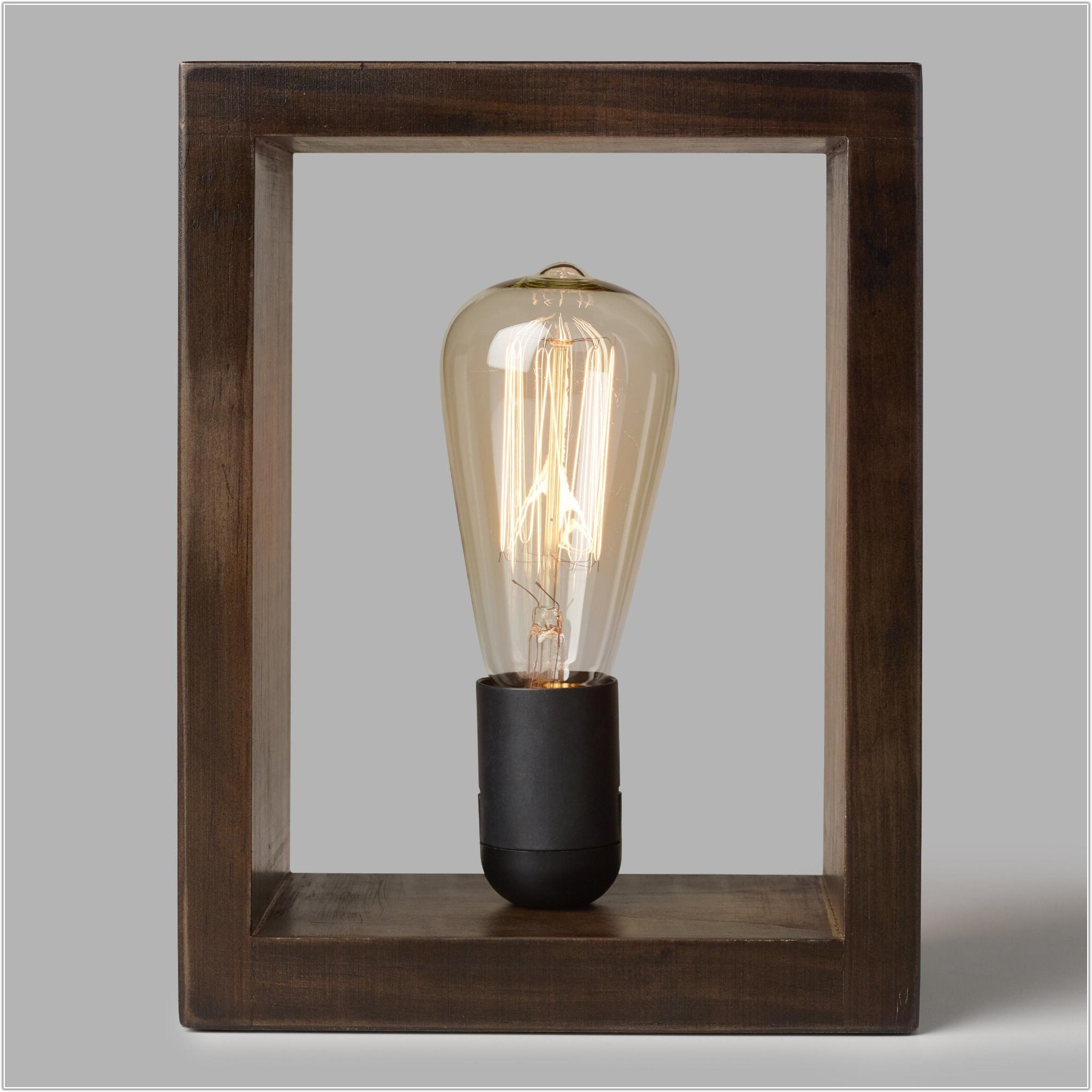 Make Your Own Edison Table Lamp