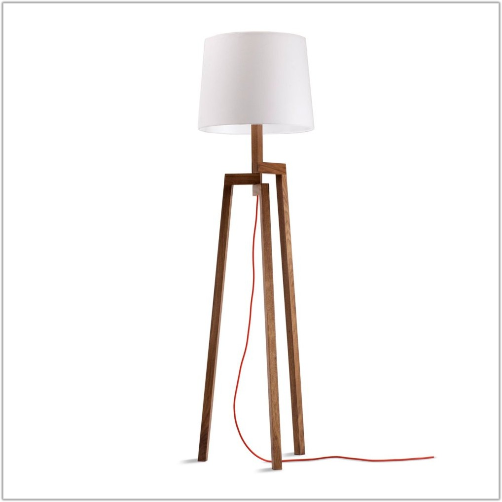 Matching Table And Floor Lamp Set