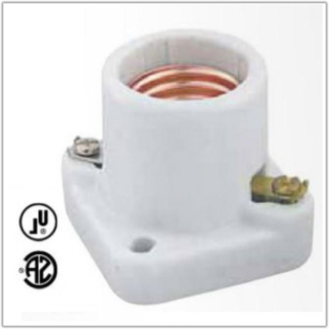Medium Base Cleat Lamp Socket