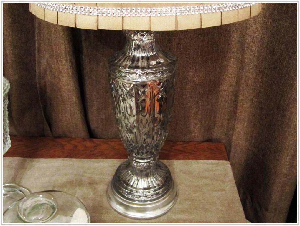 Mercury Glass Table Lamp Kohls