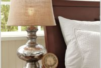Mercury Glass Table Lamp Pottery Barn