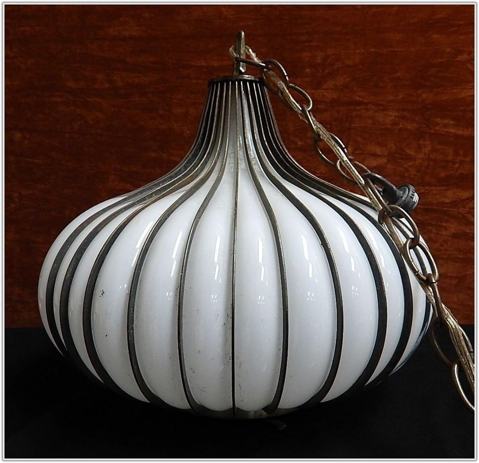 Mid Century Danish Hanging Lamp