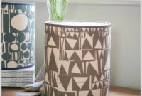 Mid Century Drum Lamp Shades