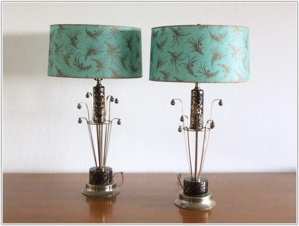 Mid Century Table Lamp Ebay