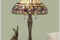 Mini Tiffany Glass Table Lamps