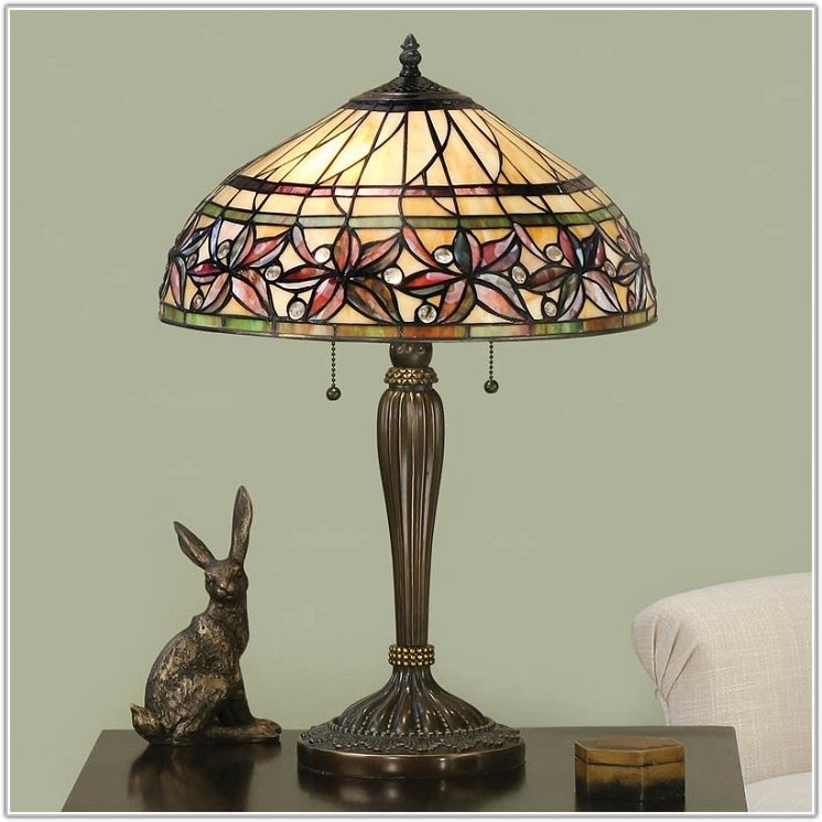 Mini Tiffany Style Table Lamps