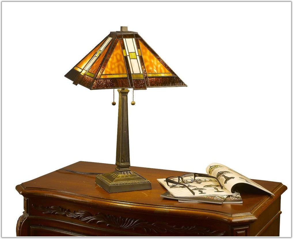 Mission Style Table Lamp Shades