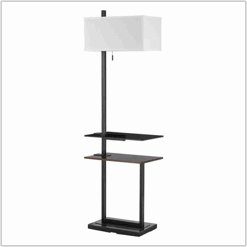 Modern Floor Lamp With Tray Table