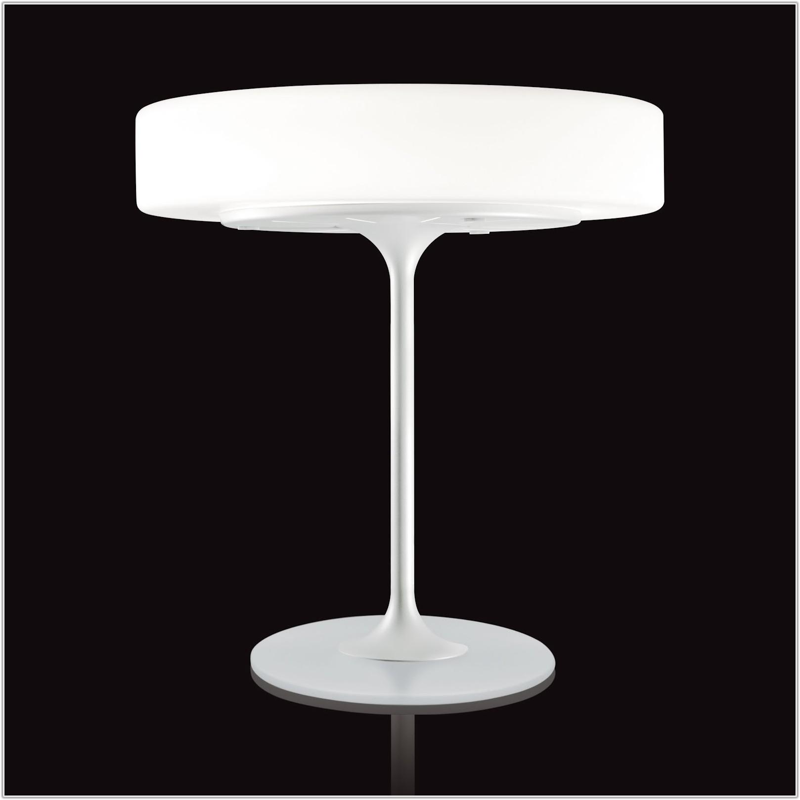 Modern Glass Base Table Lamps