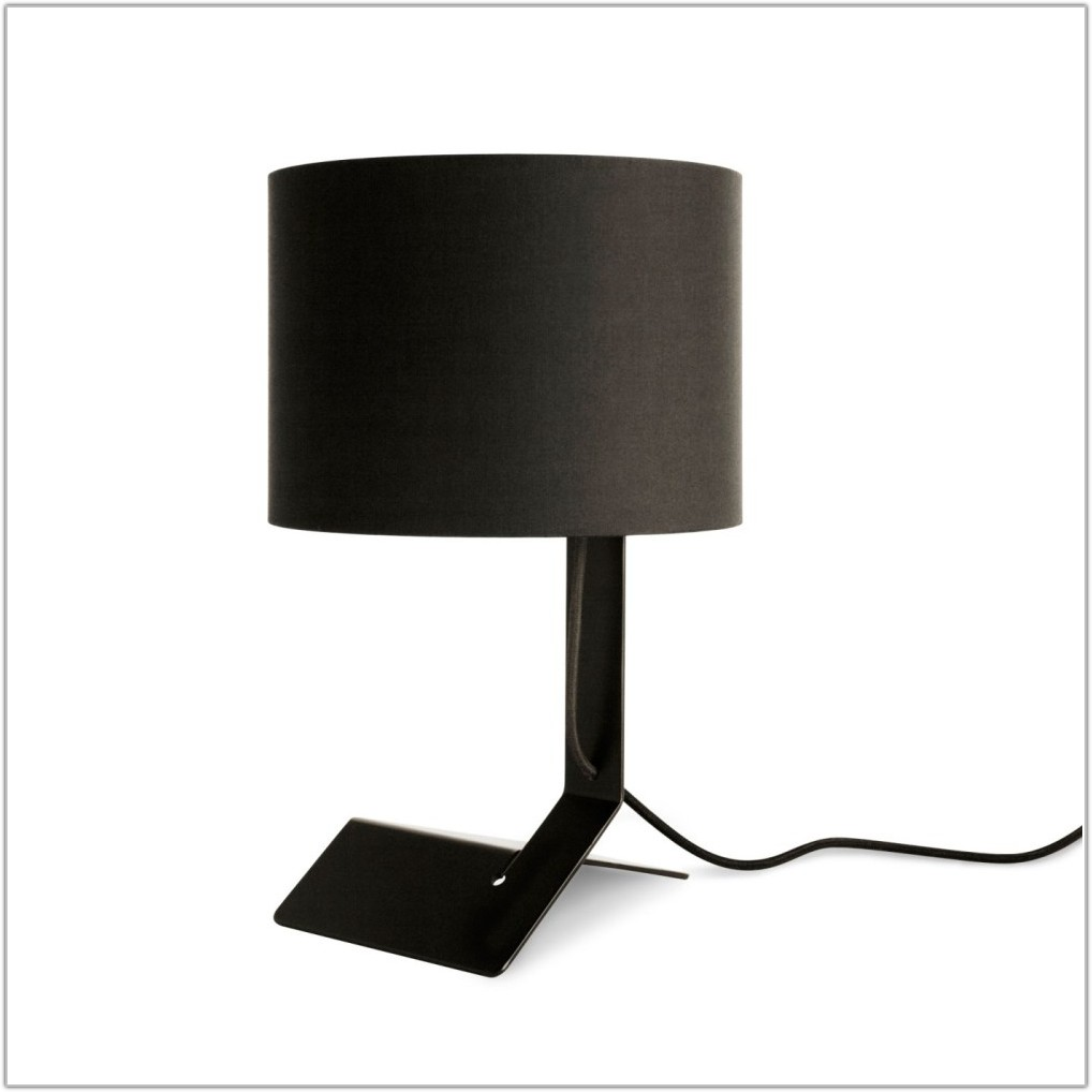 Modern Table Lamps With Black Shades