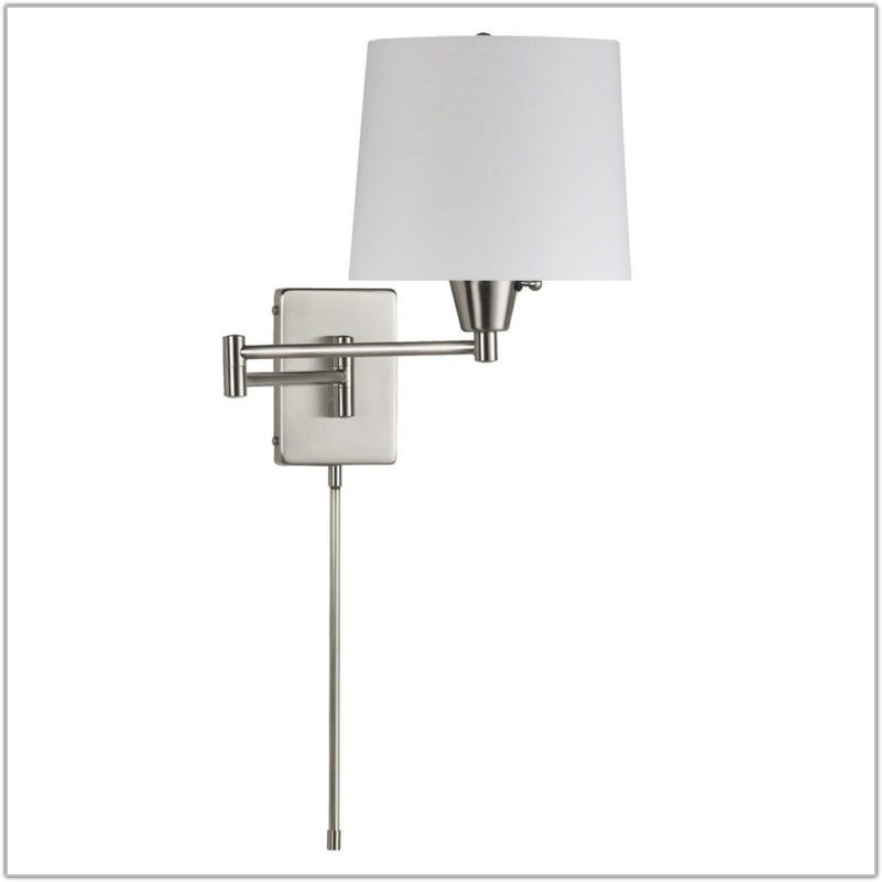 Modern Wall Mounted Swing Arm Lamp