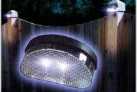 Moonrays Solar Powered Post Cap Lamp Light
